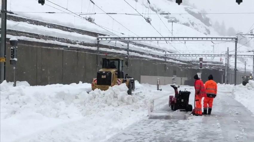 Switzerland Matterhorn Avalache Risk