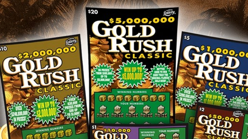 gold rush lottery TLMD TAMPA