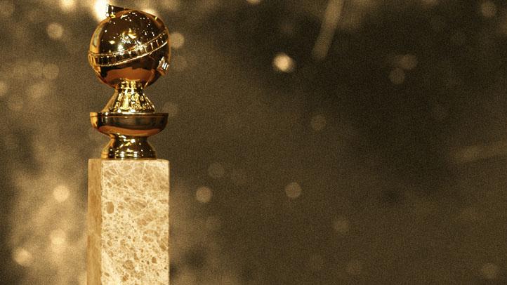golden globe statue AP