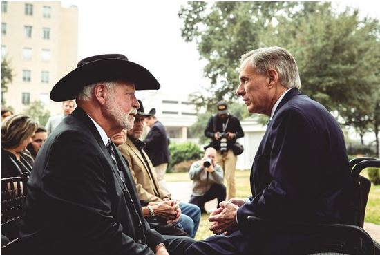 Jack Wilson and Greg Abbott