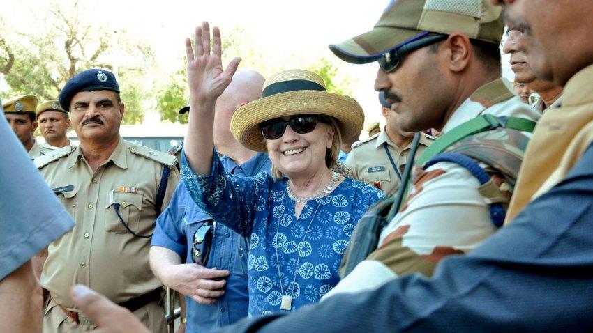 India Hillary Clinton