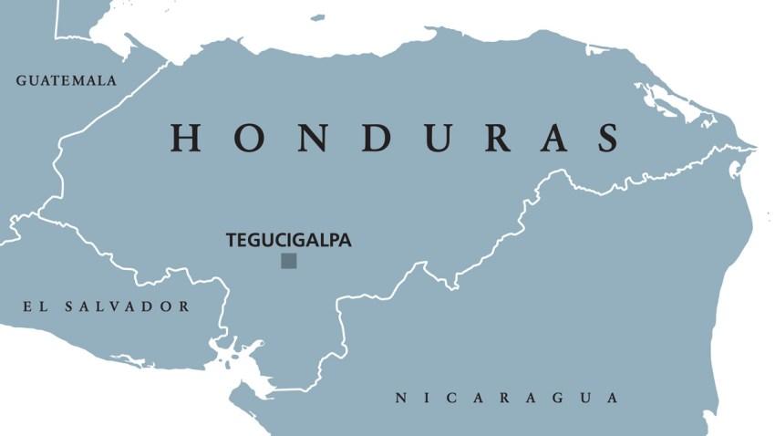 HondurasPoliticalMapGray