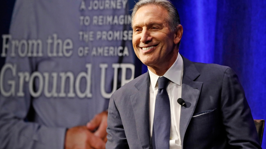 Howard Schultz, former Starbucks CEO and chairman