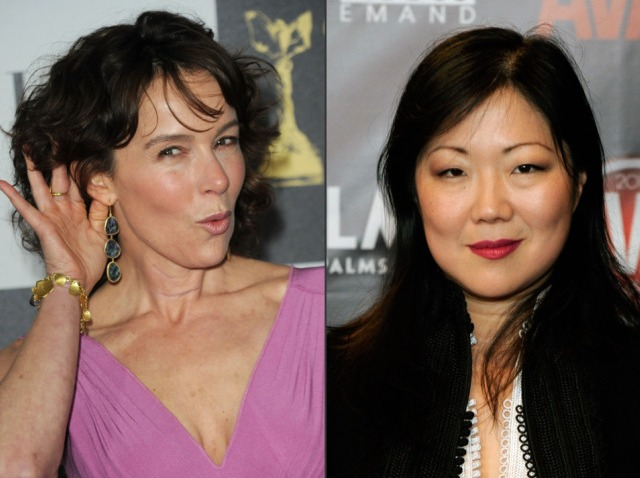 jennifer grey and margaret cho-640