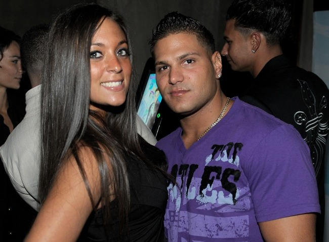 jersey shore sammi and ronnie