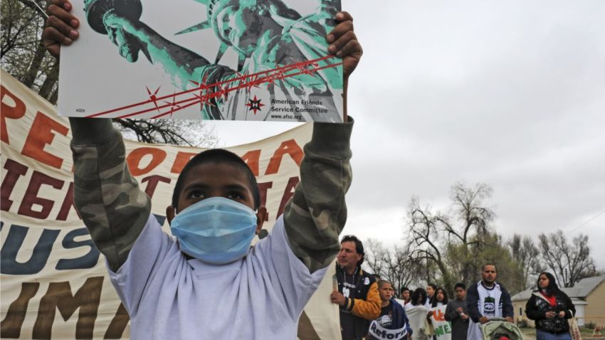 Immigration March Colorado Swine Flu
