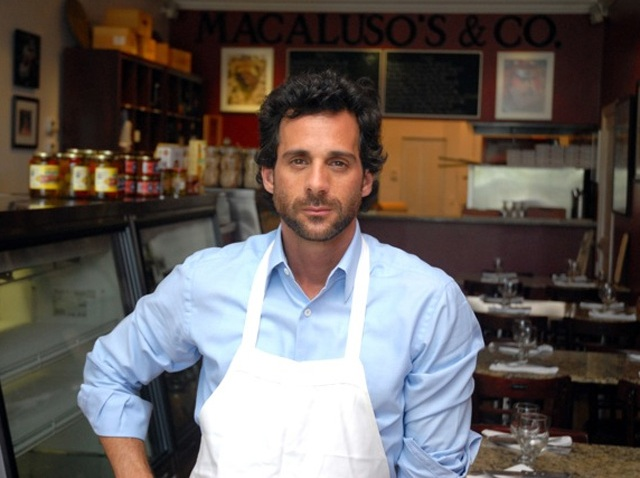 Chef Michael D'Andrea of Macaluso's