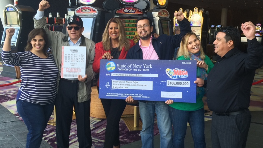 5 Friends Hit $106 Million Jackpot After Playing Lottery ...