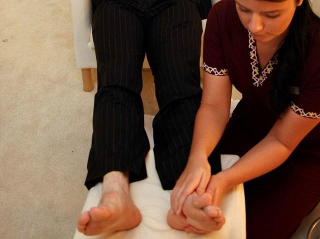 men n cure foot treatment