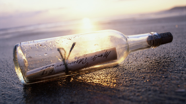 message in a bottle generic