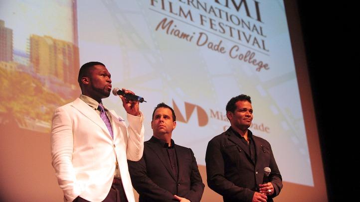 miami international film fest 50 cent van peebles