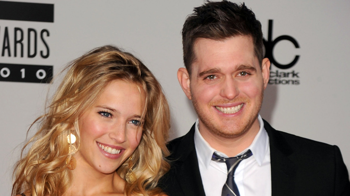 Michael Buble and Luisana Lopilato