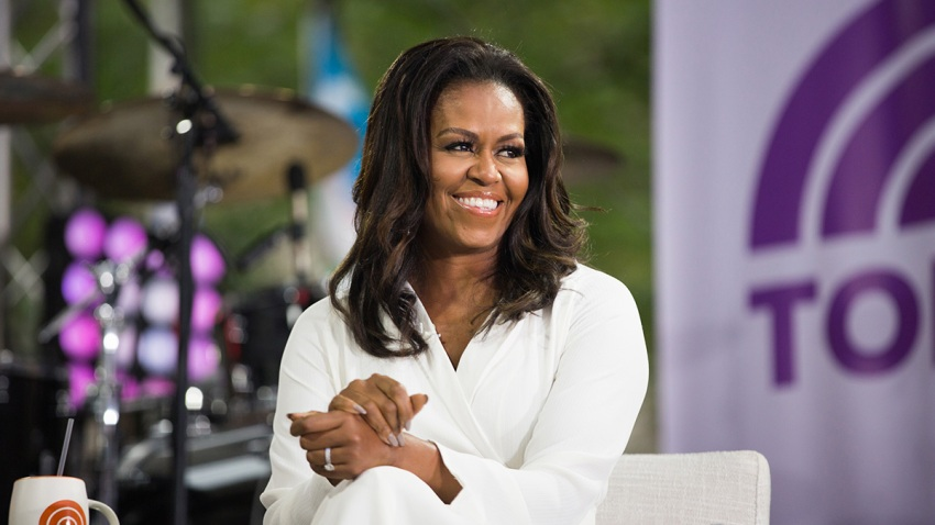 Michelle Obama on TODAY on Thursday, October 11, 2018.