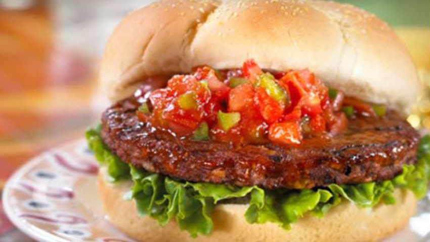 morning star spicy black bean veggie burger