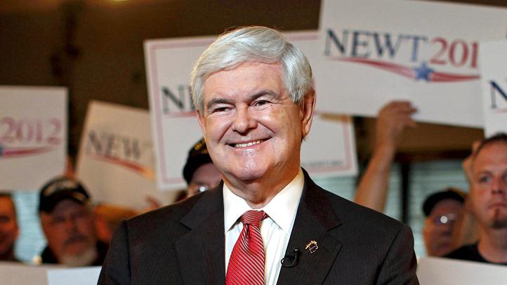 APTOPIX Gingrich 2012
