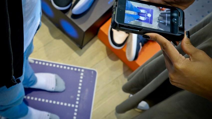 Nike Feet Scan