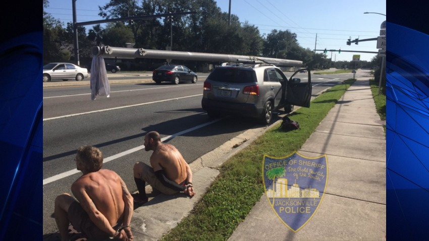power pole looters