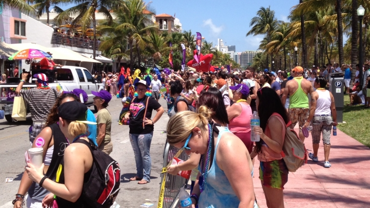 see photos from the 5th annual miami beach gay pride