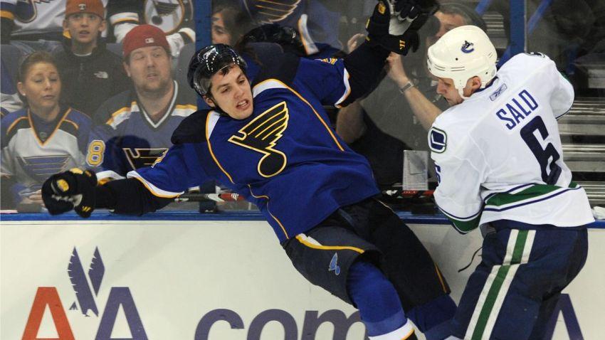 Canucks Blues Hockey