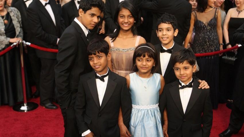 """""""Slumdog Millionaire"""" Cast arrive at the 81st Annual Academy Awards"""