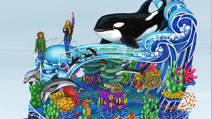 seaworld float