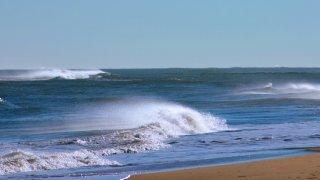 generic beach waves
