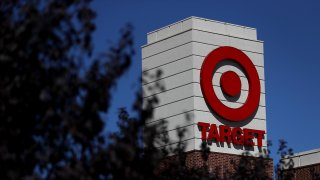 The Target logo is displayed on the exterior of Target store on September 25, 2017 in San Rafael, California.