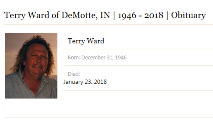 terry ward obit