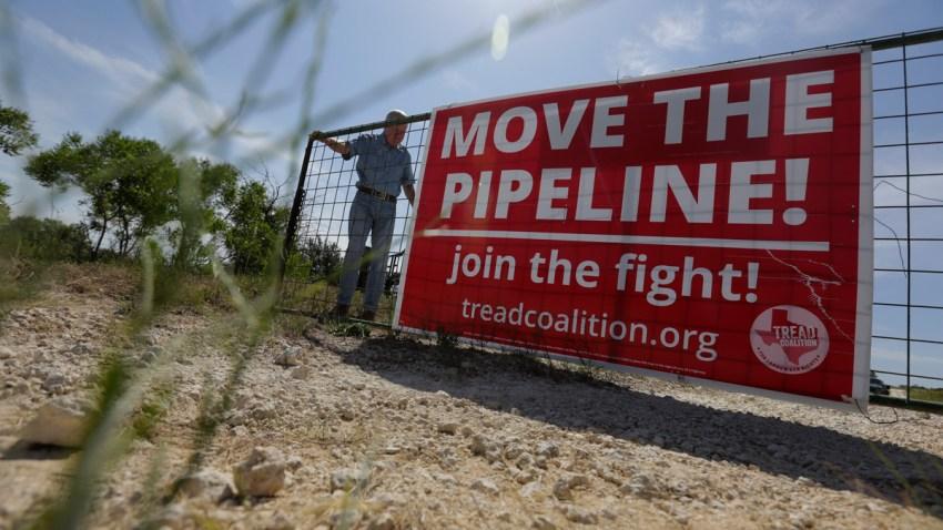 Pipeline Fight Texas
