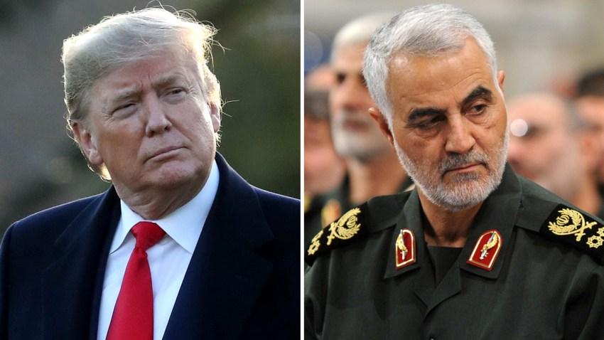 Trump y el general Soleimani