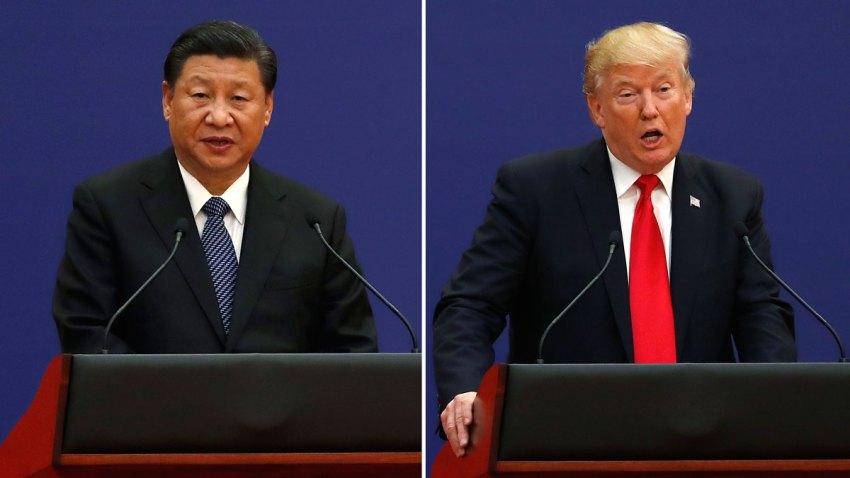 China US Xi vs Trump