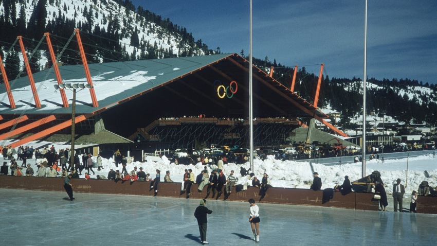 A file photo of the California ski resort that is changing its name to remove a derogatory term for Native American women.