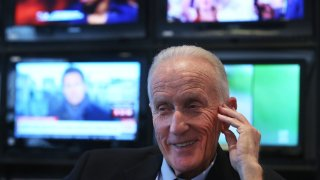 This Jan. 7, 2016, file photo, shows Ed Ansin, owner of WHDH-TV.