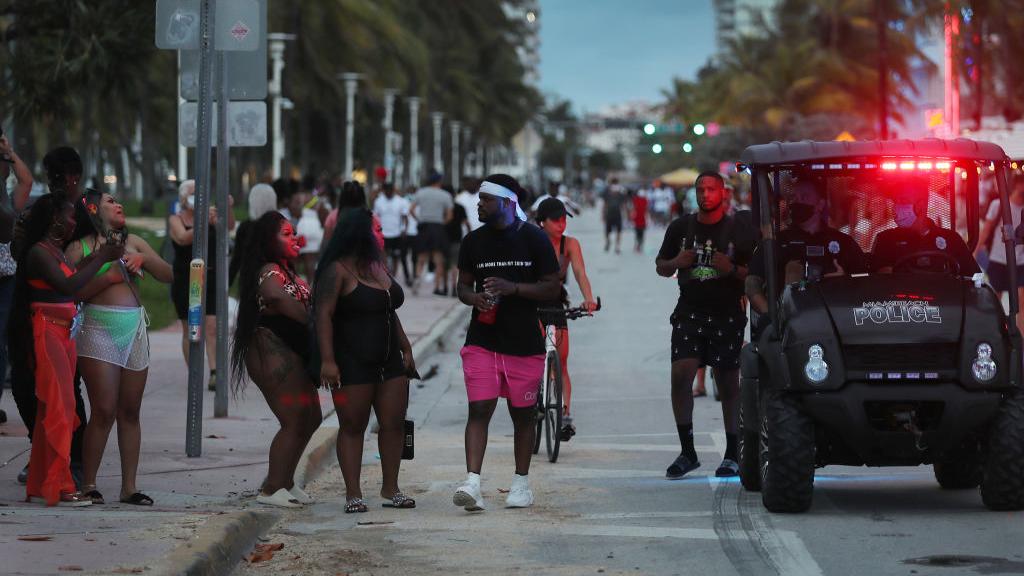 Miami Beach Curfew Shuts Down South Beach Parties Early