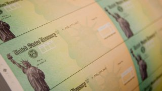 Blank checks from the US Treasury.