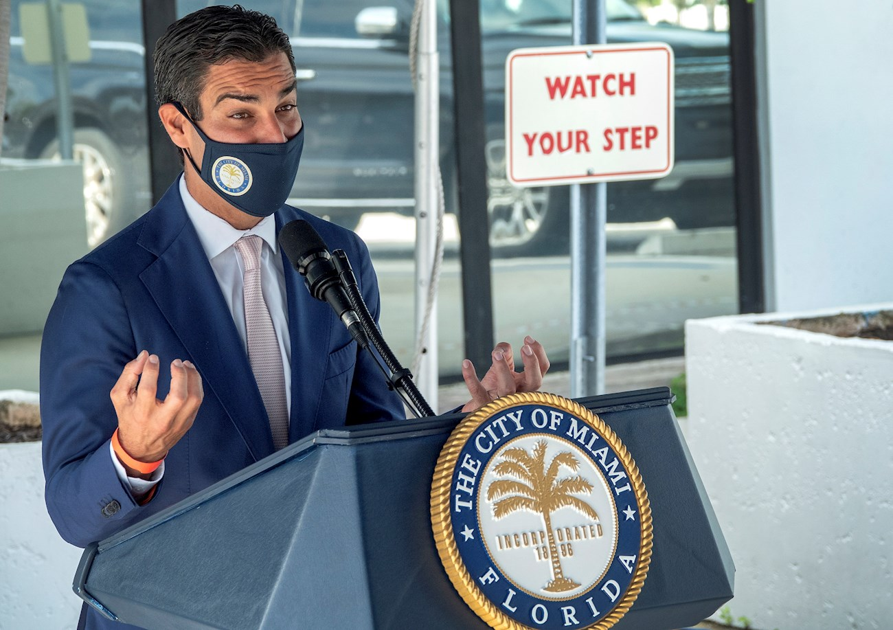 Miami Mayor Wants Residency Restriction for COVID Vaccine