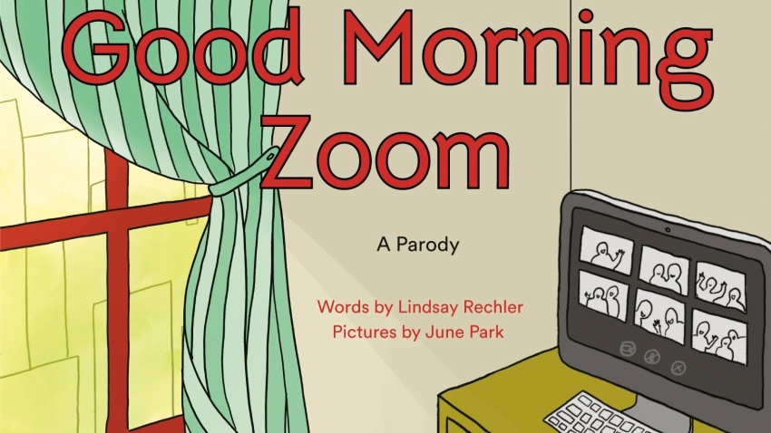 "This cover image released by Philomel shows ""Good Morning Zoom"" by Lindsay Rechler"
