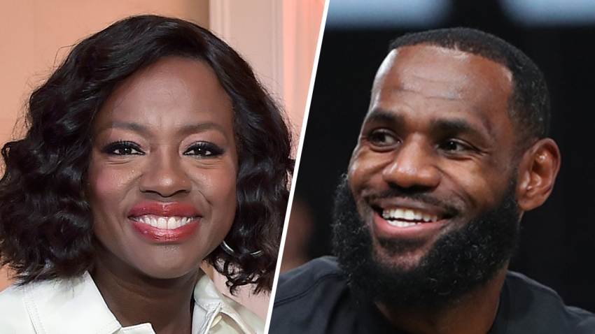 Actor Viola Davis (left) and basketball star LeBron James (right) are among the honorees at the African American Film Critics Association TV Honors.