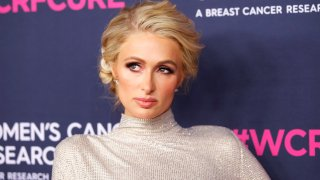 In this Feb. 27, 2020, file photo, Paris Hilton attends The Women's Cancer Research Fund's Unforgettable Evening 2020 at Beverly Wilshire, A Four Seasons Hotel in Beverly Hills, California.