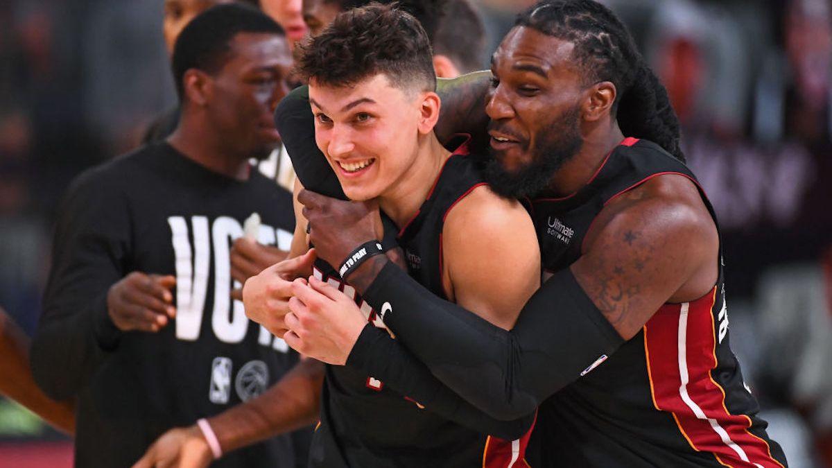 He's a Herro: Miami Heat Top Boston Celtics, Move a Game From NBA Finals