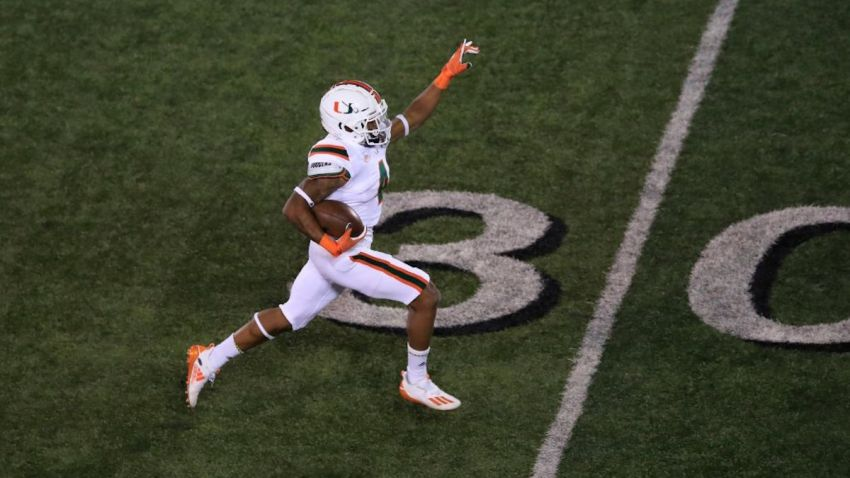 No 9 Miami Clinging To Title Hopes When It Visits Virginia Tech Nbc 6 South Florida