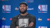 'Here for One Reason': LeBron James Talks Facing Miami Heat in NBA Finals