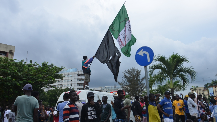 Demonstration Against Police Brutality In Nigeria