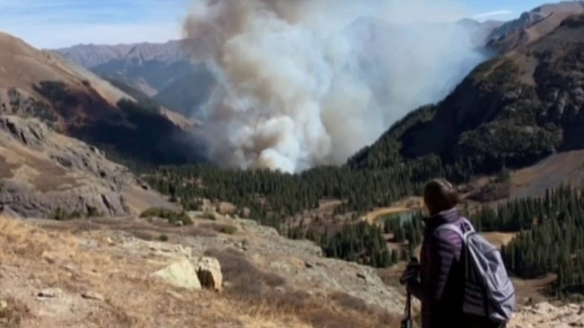 Local Hikers Rescued From Fire in Colorado jpg?resize=1200,675.'