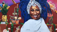 Giant Celia Cruz Mural Painted in Wynwood to Celebrate Hispanic Heritage Month