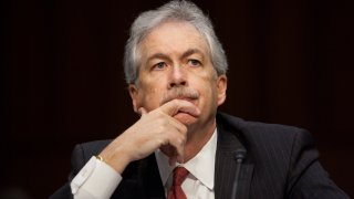In this Dec. 20, 2012, file photo, Deputy Secretary of State William Burns listens during his testimony during the Senate Foreign Relations Committee hearing on the September 11th attacks on the U.S. Consulate in Benghazi, on Capitol Hill, in Washington, D.C. Burns has been nominated by President-elect Joe Biden to head the CIA.