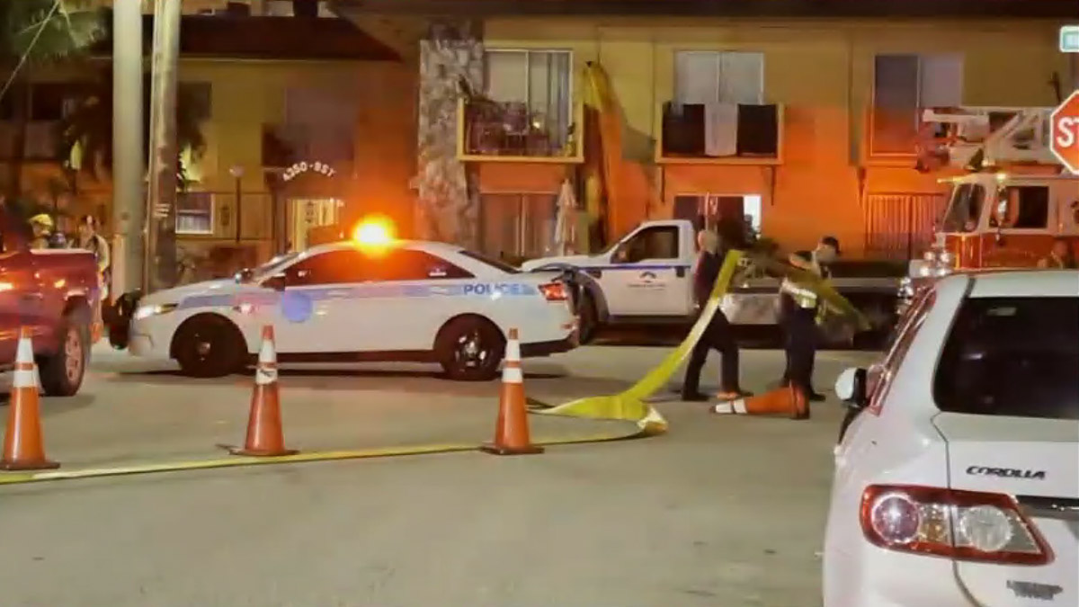 Miami Firefighters Rescue Residents from Fire at Apartment Building