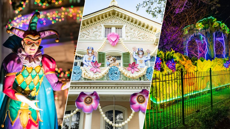 See the 'Float Houses' Taking Over New Orleans for Mardi Gras