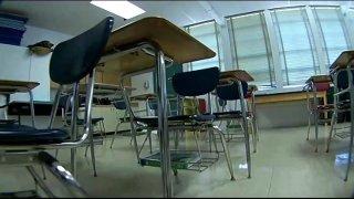 generic classroom empty
