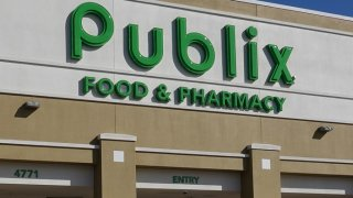 In this Jan. 29, 2021, file photo, a Publix Food & Pharmacy store where COVID-19 vaccinations were being administered in Delray Beach, Florida.